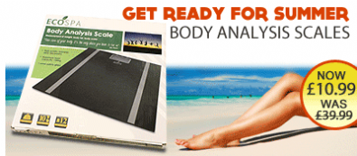 Body Analysis Scale Promotion